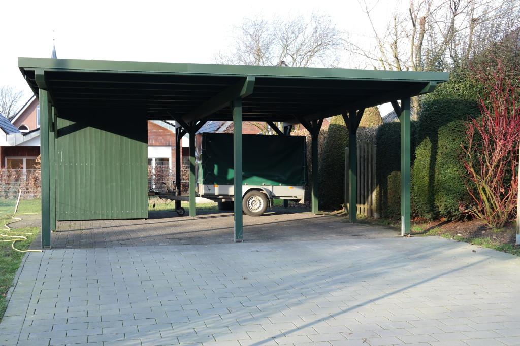 carport mit ger teraum tenhumberg. Black Bedroom Furniture Sets. Home Design Ideas
